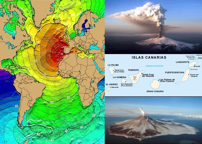 Vulcão capaz de provocar tsunami no Brasil pode entrar em erupção | Rádio  Alternativa Fm Gaurama